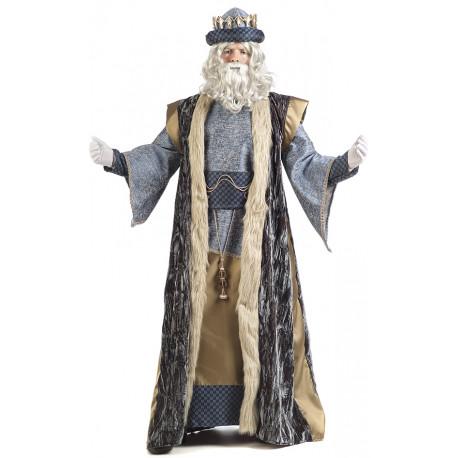 Disfraz de Rey Mago Melchor Deluxe para Hombre