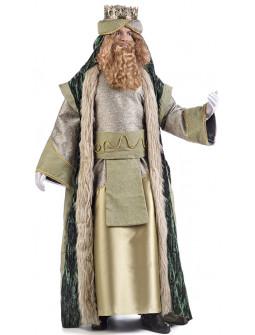 Disfraz de Rey Mago Gaspar Deluxe para Hombre