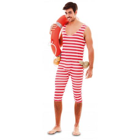 Disfraz de Bañista Forzudo para Hombre