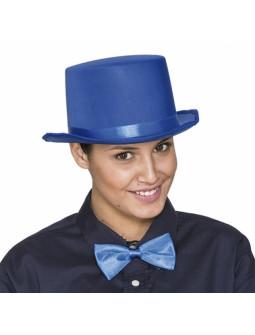 Chistera Azul de Fieltro