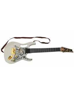 Guitarra Eléctrica Blanca