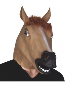 Máscara de Caballo de Látex