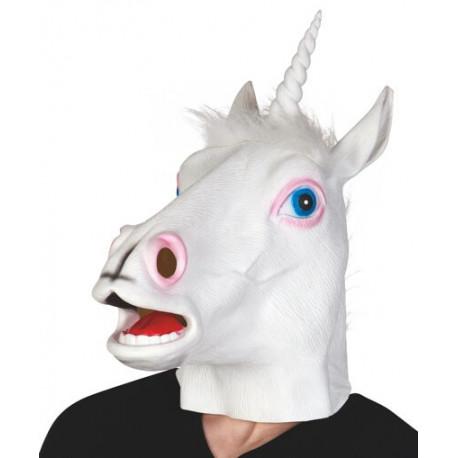 Máscara de Unicornio de Látex