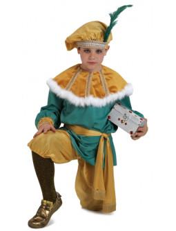 Disfraz de Paje Real Premium para Niño