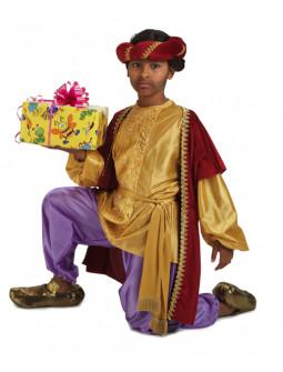 Disfraz de Paje de Baltasar Lujo para Niño