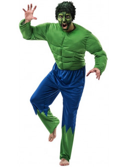 Disfraz de Hulk para Adulto