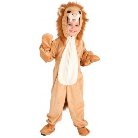 Disfraz de León Adorable para Niño
