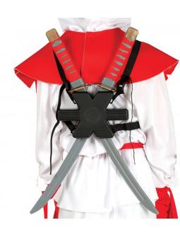 Espadas Ninja con Soporte para la Espalda