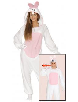 Disfraz de Conejo Pijama para Adulto