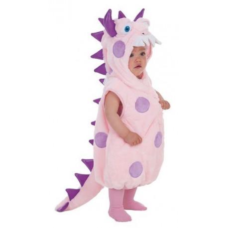 Disfraz de Monstruito Rosa Infantil