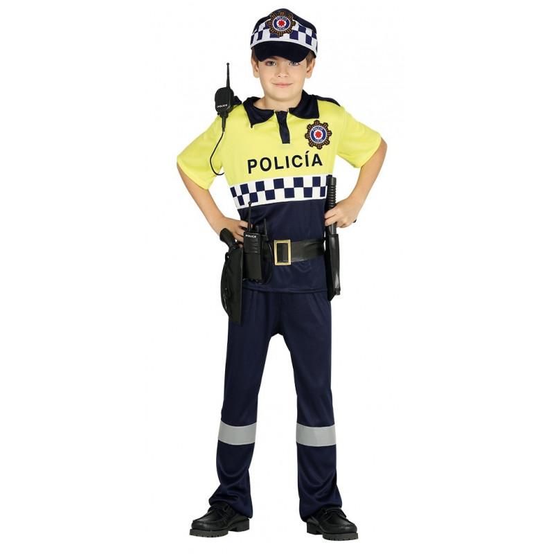 Gorra Visera con bordado de Policia - Disfraces Simon - 0dc40df28cf