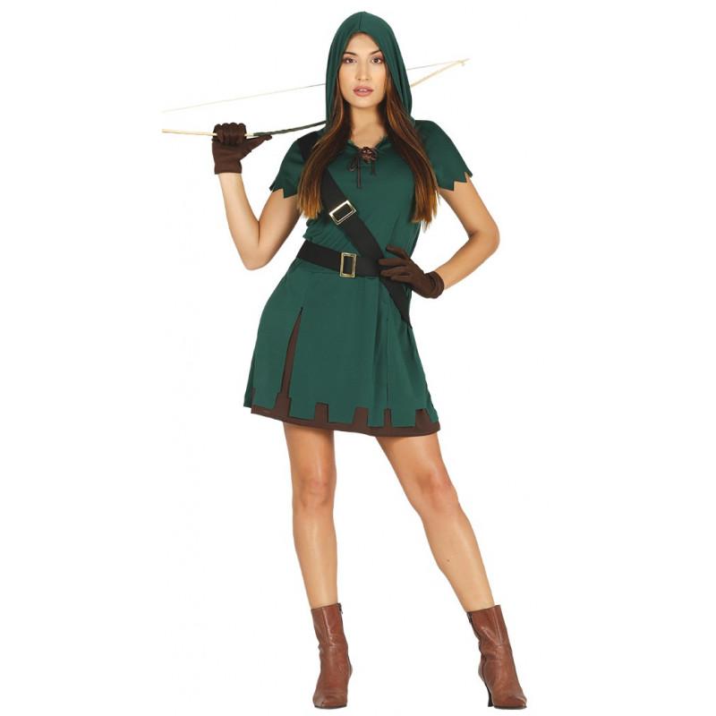 Disfraz de arquera del bosque para mujer comprar online - Disfraz marinera casero ...