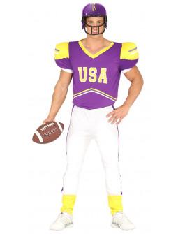 Disfraz de Quaterback de Fútbol Americano