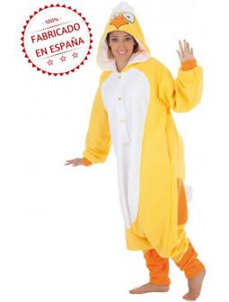 Disfraz de Pollo Pijama para Adulto