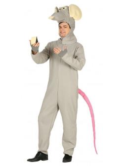 Disfraz de Rata Gris para Adulto