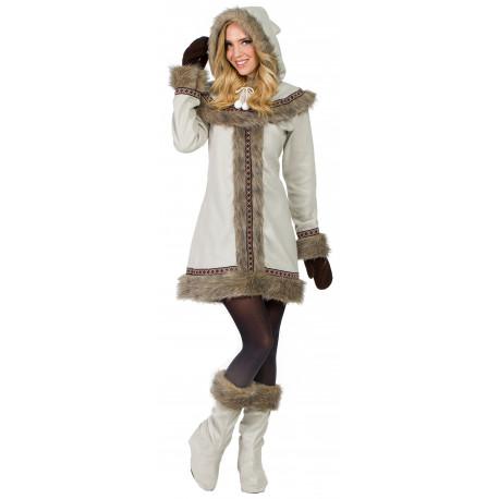 Disfraz de Esquimal Nórdica para Mujer