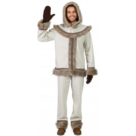 Disfraz de Esquimal Nórdico para Hombre