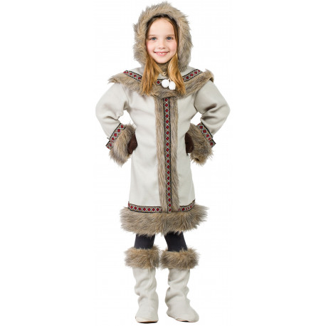 Disfraz de Esquimal Nórdica para Niña