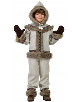 Disfraz de Esquimal Nórdico para Niño