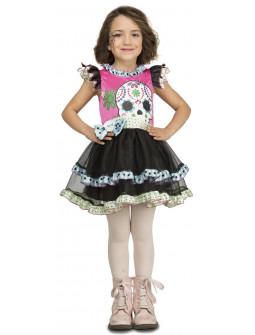 Disfraz de Calaverita Mexicana para Niña