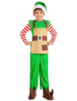 Disfraz de Ayudante de Papá Noel para Niño