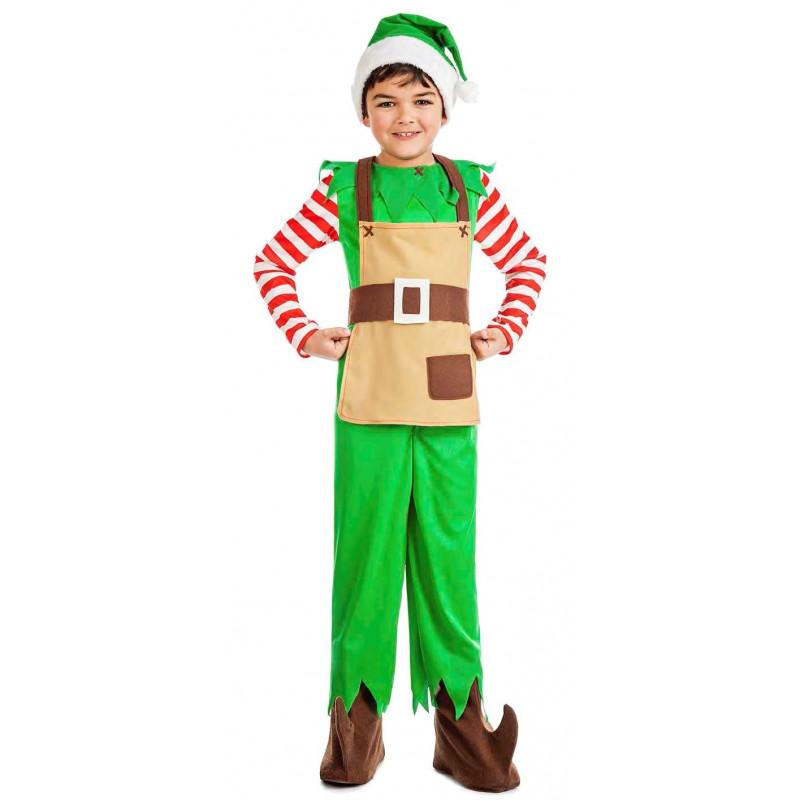 Disfraz de ayudante de pap noel para ni o comprar online - Disfraz papa noel nino ...