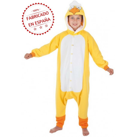 Disfraz de Pollo Pijama para Niños