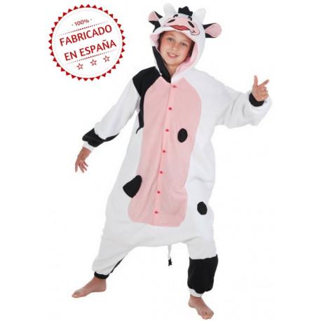Disfraz de Vaca Pijama para Niños
