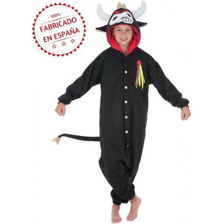 Disfraz de Toro Pijama para Niños