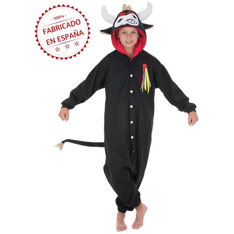 9ad30e9659 Disfraz de Toro Estilo Pijama para Niños