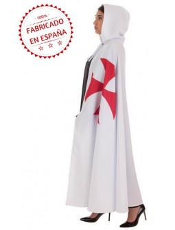 Capa Templaria Blanca para Adulto