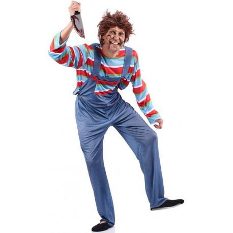 Disfraz de Chucky El Muñeco Diabólico para Adulto