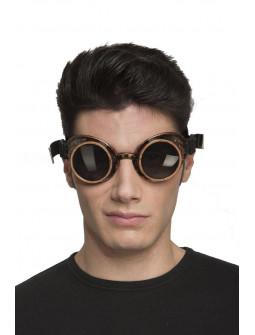 Gafas Steampunk Doradas Envejecidas