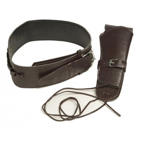 Cartuchera Marrón con Cinturón