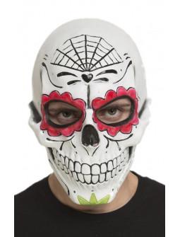 Máscara de Calavera Mexicana de Látex