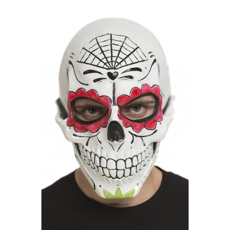 Máscara De Catrina Calavera Mexicana De Látex Comprar Online