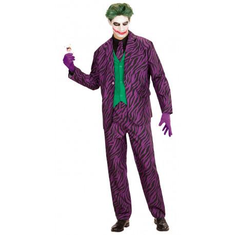 Disfraz de Joker con Traje de Cebra para Hombre