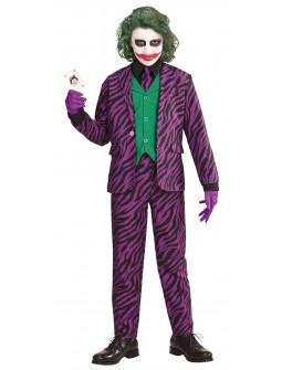 Disfraz de Joker con Traje de Cebra para Niño