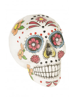 Calavera Mexicana Colorida para Decoración