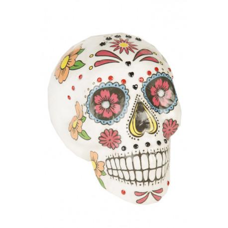 Calavera Mexicana Colorida para Decoración