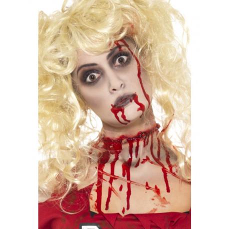 Kit de Maquillaje Zombi con Cápsulas de Sangre