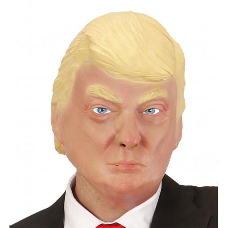 Máscara de Donald Trump en Látex