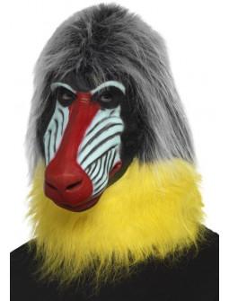 Máscara de Mono Babuino de Látex