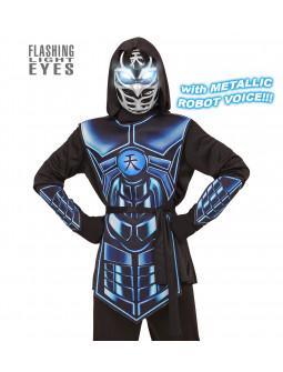 Disfraz de Ninja con Luces y Sonido para Niño