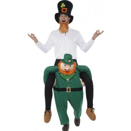 Disfraz de Leprechaun Irlandés a Hombros