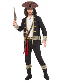 Disfraz Pirata Negro para Hombre