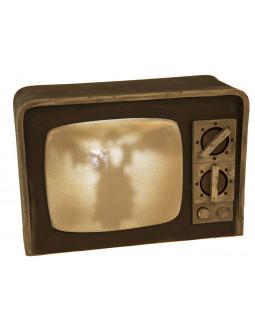 Televisión Terrorífica con Luz y Sonido