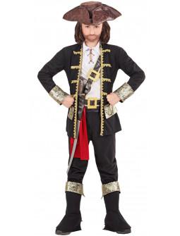 Disfraz Pirata Negro para Niño