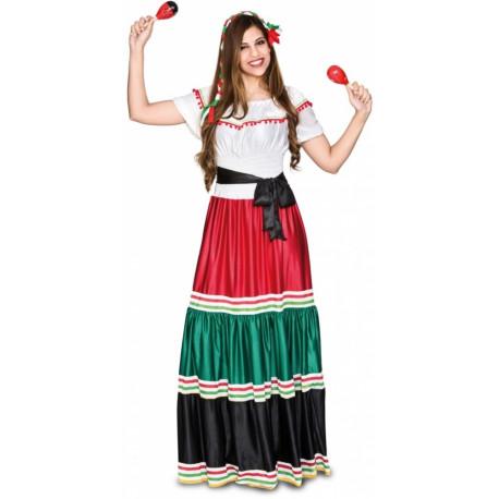 Disfraz de Mexicana Tradicional para Mujer