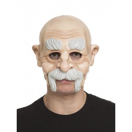 Máscara de Abuelo con Bigote
